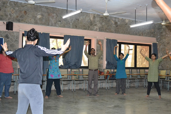 Movement Therapy seminar for students at Tata Institute Of Social Sciences